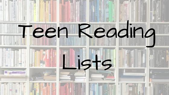 Teen Reading Lists