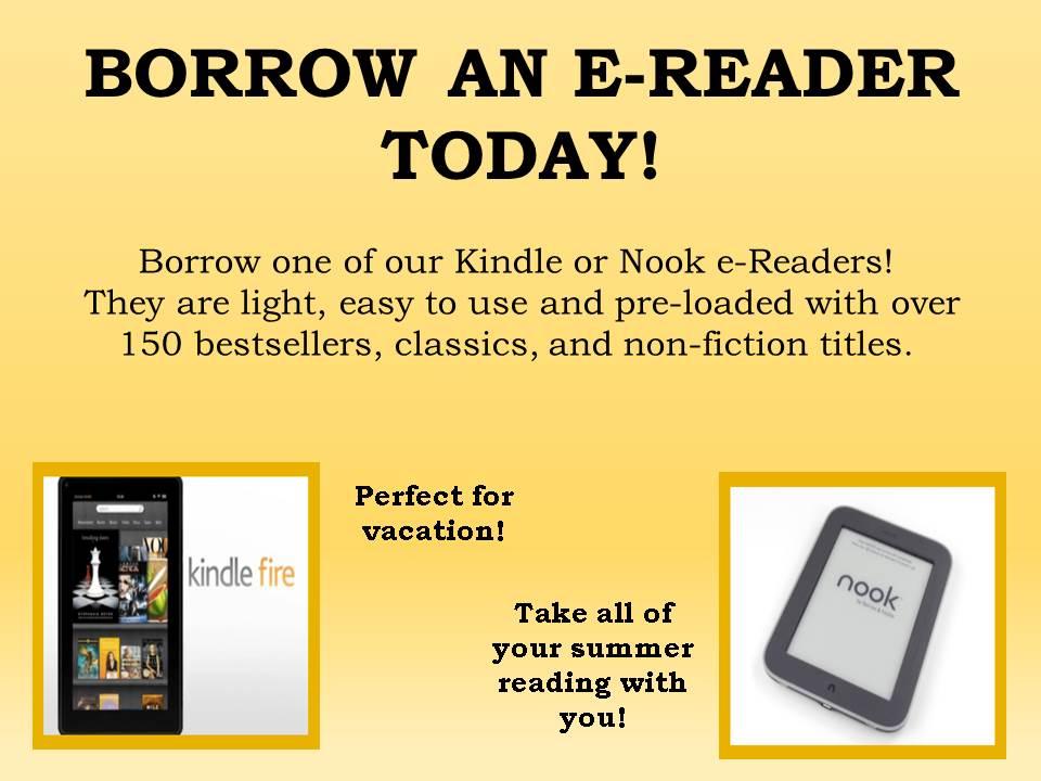 Borrow an e-reader